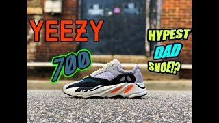 65b81c548e6 Adidas Yeezy Boost 700 Wave Runner  REVIEW