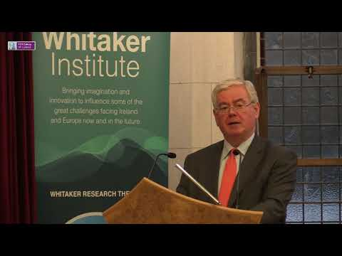 Eamon Gilmore, Whitaker Lecture, NUI Galway, 20/11/17