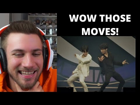 "BTS Jimin and Jungkooks dance to Michael Jackson's ""Black or White"" BTS Prom Party Festa - Reaction"