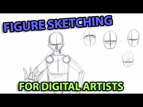 Human Figure Sketching for Digital Artists