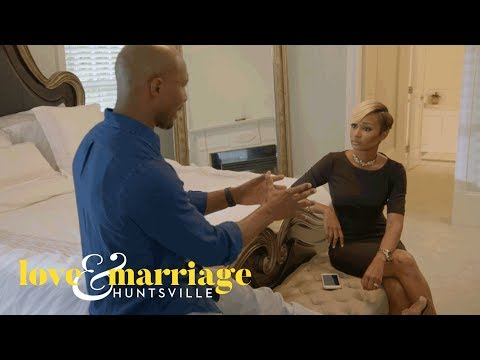 Martell Confronts Melody About Sharing Their Personal Drama   Love and Marriage: Huntsville   OWN