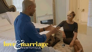 Martell Confronts Melody About Sharing Their Personal Drama | Love and Marriage: Huntsville | OWN
