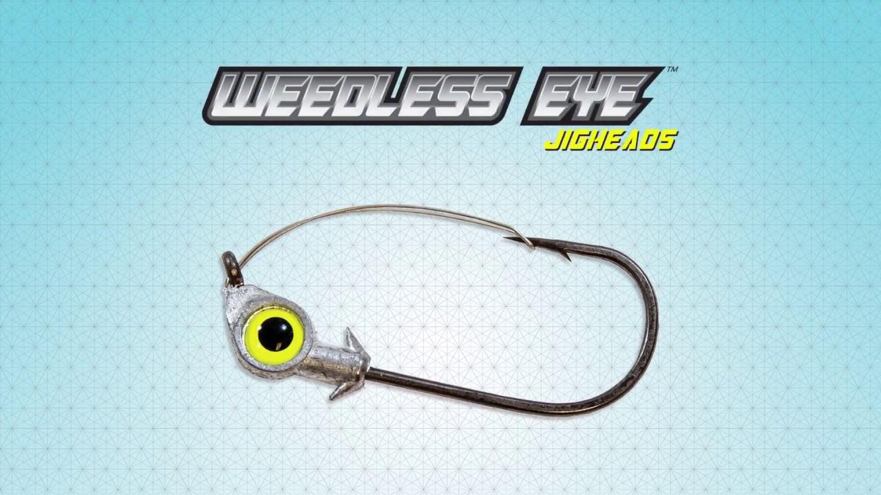 Z-Man WEJH14-05PK3 Weedless Eye Jigheads 1//4 oz Chartreuse 3 Pack