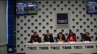Аэлита 2017, пресс-конференция. Валерий Гаевский, Александр Гриценко, Борис Долинго, Андрей Белянин