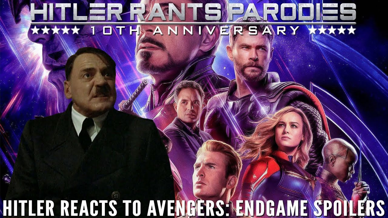 Hitler reacts to Avengers: Endgame spoilers