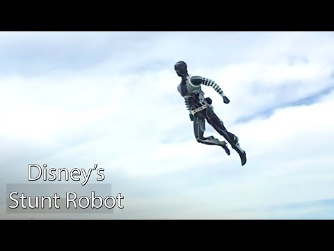 Disney's Stuntronics Robot Perform Acrobatics & Could Change How Hollywood Makes Action Movies