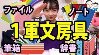 大公開!私の1軍文房具あれこれ✏️📚【ベイビーチャンネル 】 thumbnail