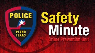 Plano Police Safety Minute - Phishing Scams