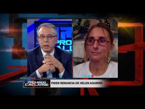 Dreamers piden renuncia de Helen Aguirre al MDC o al NRC