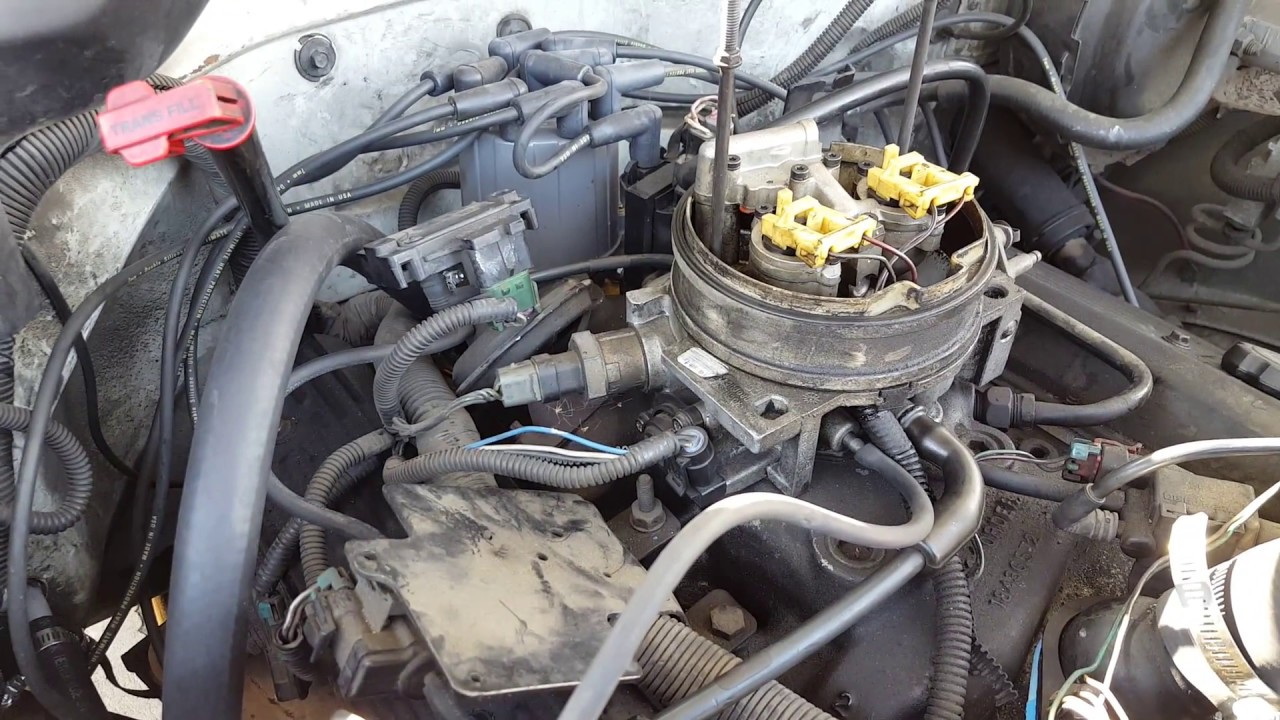 1991 Chevy 350 Tbi Engine Diagrams Wiring Diagram Portal 1987 Testing The Tps Throttle Position Sensor 1994 C1500 Rh Youtube Com Braket For
