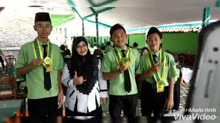 Pelepasan siswa siswi Mts yarobi Grobogan tahun ajaran 2018-2019.
