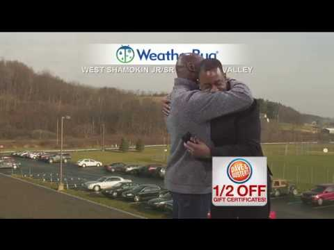 Ron Smiley Gets a Hug From Patterson Patterson Joseph on Pittsburgh Today LIVE