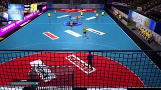 Handball 16 Gameplay FC Barcelona - Balonmano Aragón
