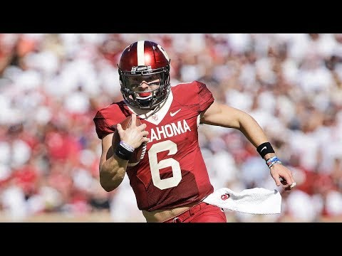 "Baker Mayfield | 2017-18 Heisman Highlights | ""Savage Time"" ᴴᴰ"