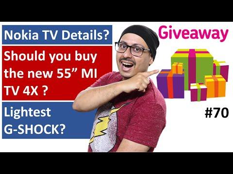 Nokia TV ? | Should You Buy 55 Inch MI TV 4X | Lightest G SHOCK ... More