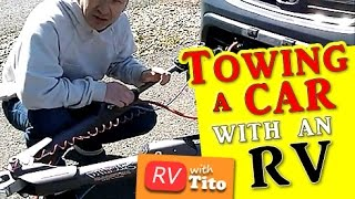 How to tow a car behind your RV or motorhome