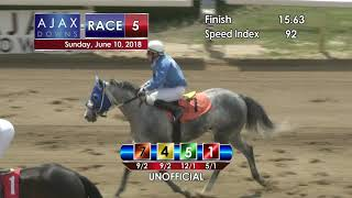 Ajax Downs 06 10 2018 Race 5