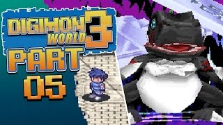 Digimon World 3 - Episode 5 - MasterTyrannomon Boss and the Seiryu City Leader