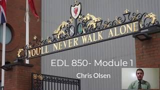 EDL 850  Module 1