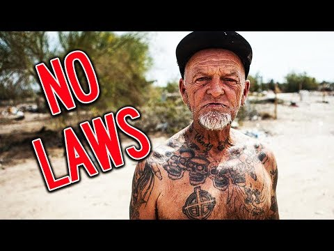ABANDONED City In America With NO LAWS | Yes Theory