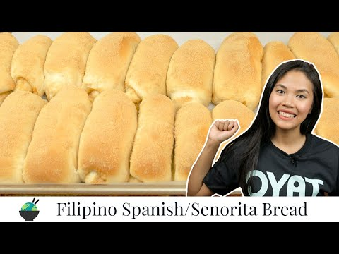 Spanish Bread Recipe (Senorita Bread) | Filipino Recipes