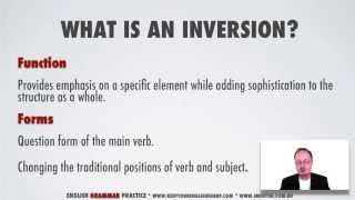 English Grammar Practice | Inversion and Emphasis