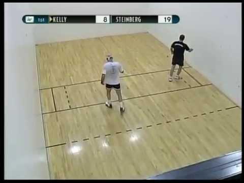 2005 National Masters Singles   45s   David Steinberg v Scott Kelly