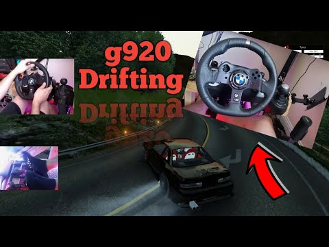 Download Logitech G920 is BACK on the channel - G920 Drift Special Assetto Corsa (settings and all)