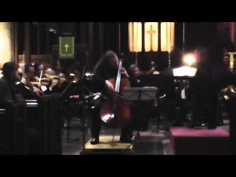 Jameson Platte Plays Elgar Cello Concerto, Mov. 2