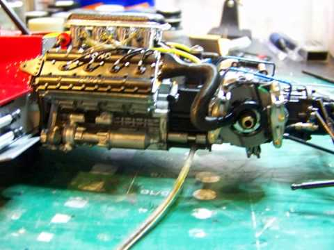 Model car build 1/12 Tamiya Team Lotus MK.III