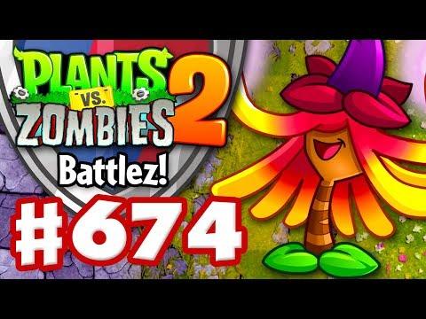 Battlez! Witch Hazel Epic Quest! - Plants vs. Zombies 2 - Gameplay Walkthrough Part 674