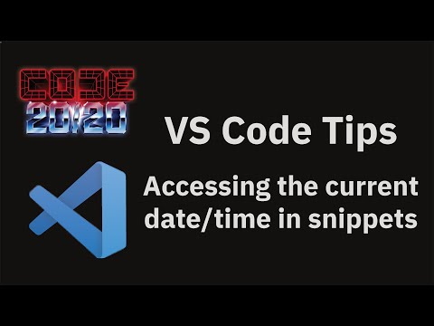 Accessing the current date/time in snippets