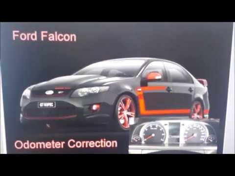 Ford Falcon Odometer Correction Repair TUTORIAL