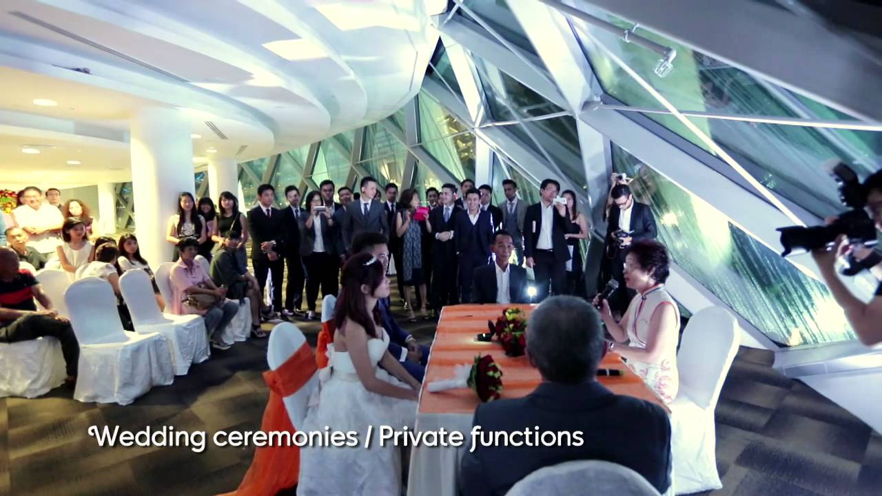 event venue waterview room gardens by the bay