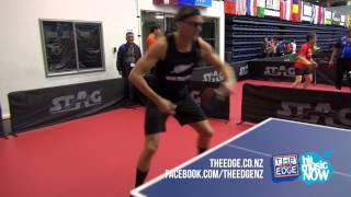 Dom goes up against a 93 year old table tennis veteran