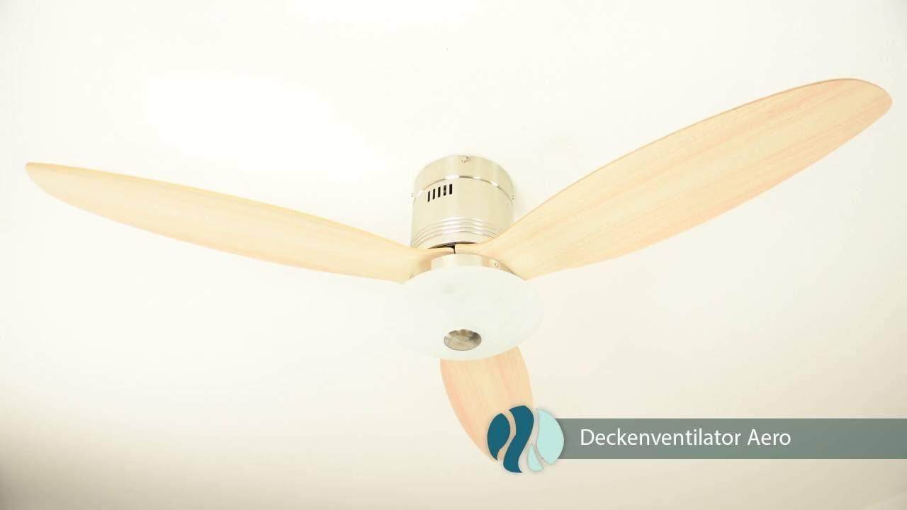 AireRyder Deckenventilator Aero Produktvideo