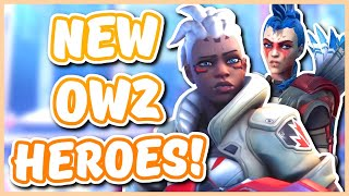 Overwatch - NEW HEŔOES IN OVERWATCH 2