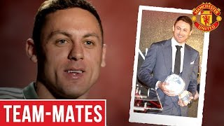 Matic plays the word association game | team-mates | manchester united