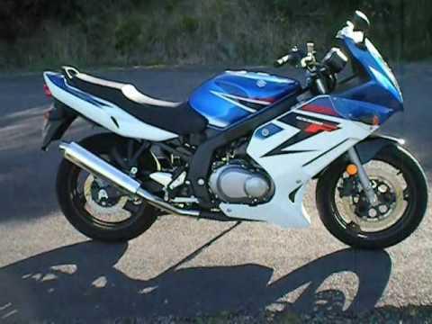 My 2008 Suzuki GS500F Walk around & start up - YouTube