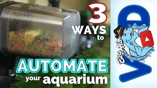 3 Ways to Automate Your Aquarium | Big Al's