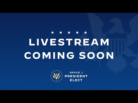Remarks by President-elect Joe Biden and Vice President-elect Kamala Harris on the Economy