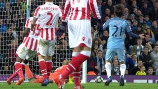 Video Gol Pertandingan Manchester City vs Stoke City