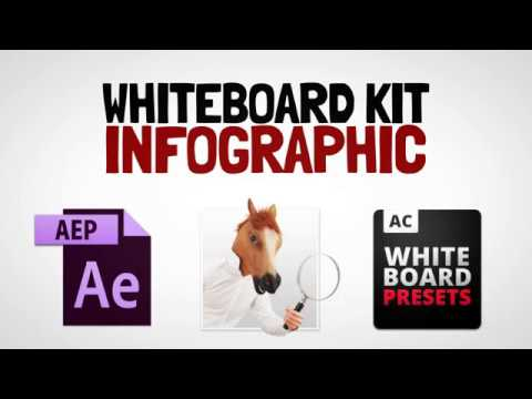 Whiteboard Kit - Infographic _ Infographic After Effects Template Free Download