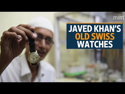 Delhi's Belly |  Javed Khan's Old Swiss Watches