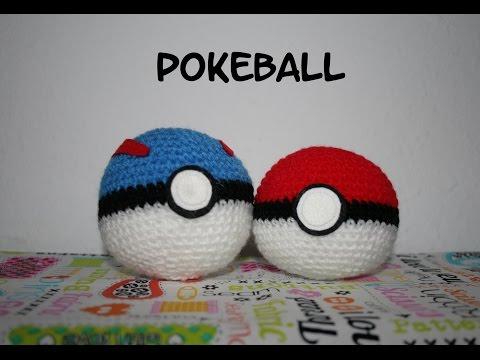 Easy Back to School Backpack Clip on Crochet Pokeball - YouTube | 360x480