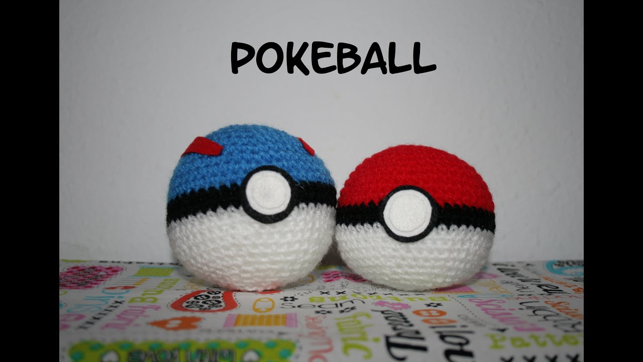 Patrón Pokeball amigurumi - YouTube
