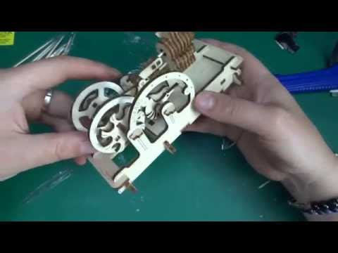 ugears - model pneumatic engine