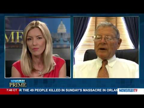Newsmax Prime   Sen. James M. Inhofe discusses how Donald Trump's speeches are affecting GOP leaders