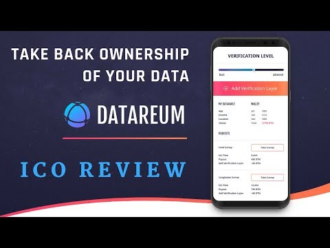 Datareum ICO Review - TAKE BACK OWNERSHIP OF YOUR DATA