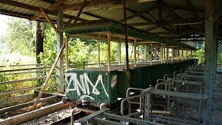 Abandoned Italy Theme Park in the Woods- Lost Train to Nowhere!